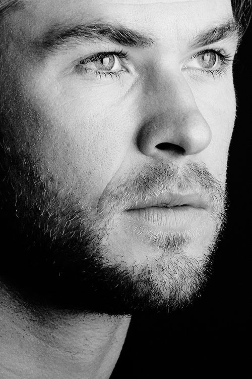 Chris Hemsworth. I cannot believe that someone this beautiful actually exists. It's appalling.
