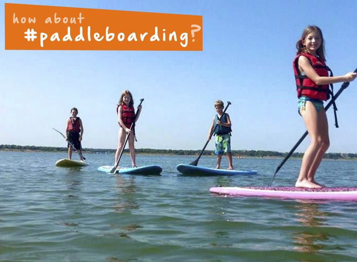 Try out #paddleboarding this #summer with the #kids. #beach #familyfun #thingstodo #active