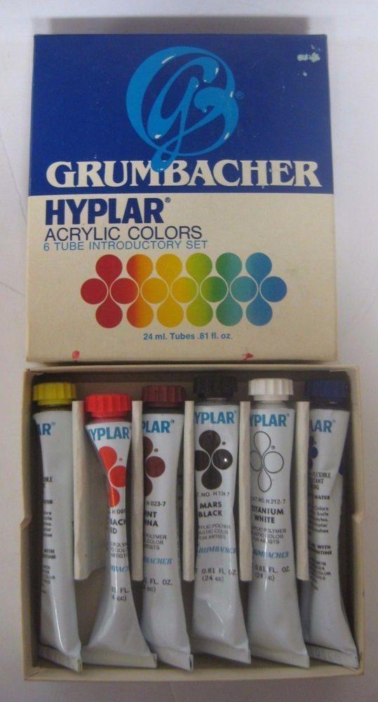 What Is Grumbacher Hyplar Acrylic Paint