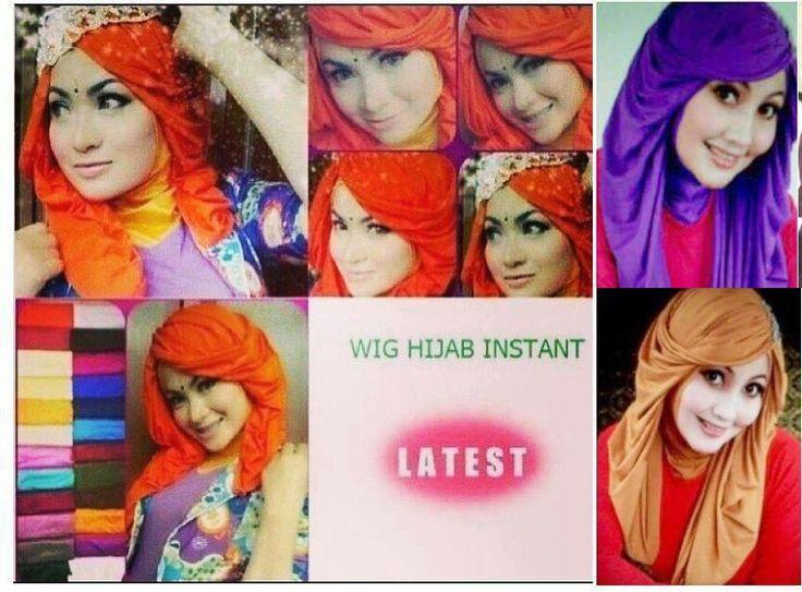Hijab wig or hair hijab