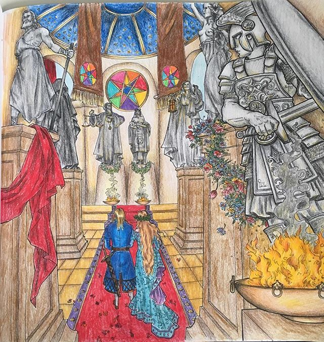 Gameofthronescoloringbook Gameofthrones Fabercastellpolychromos Pencil ArtColored PencilsColouring Book GamesGame Of ThronesValar