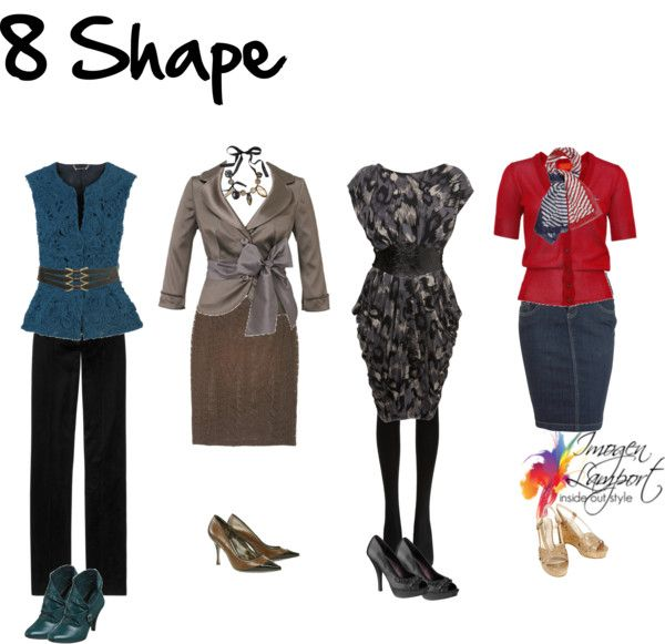 Figure 8 body shapes can sometimes be confused with H or rectangle body shapes.
