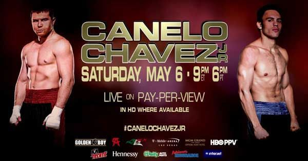 Canelo vs Chavez  Come on Canelito. I've got allot riding on you!