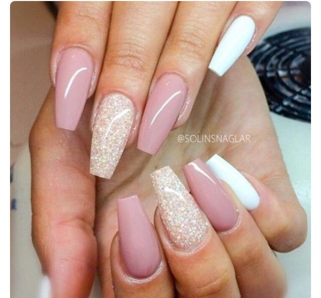 Nudes and glitter!!!