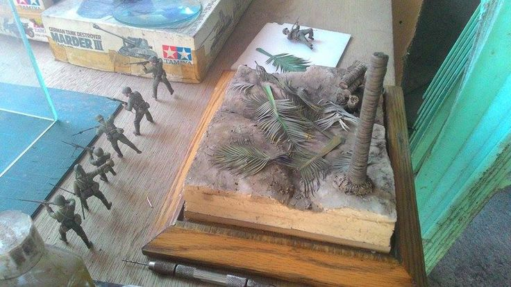 Marines! USMC vs. SNLF. Tarawa. The base. WIP.