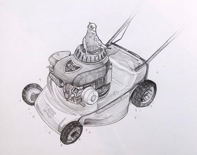 Liz's Lawnmower