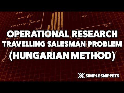 Travelling Salesman Problem using Hungarian Method