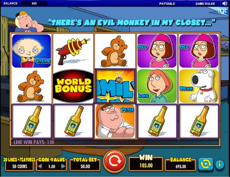 family guy casino episode