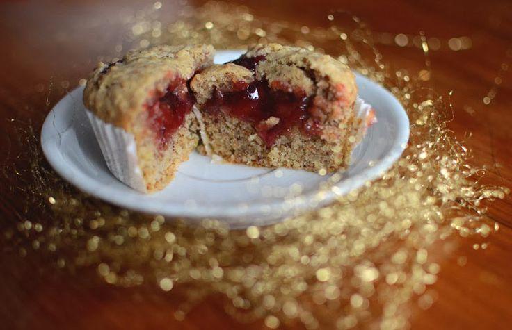 16. Türchen} Linzer Muffins | Cupcakes & Muffins | Pinterest
