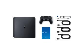 SONY PlayStation 4 (Slim) 500 GB. De Sony PlayStation 4 (Slim), dezelfde kwaliteit en mogelijkheden die je gewend bent maar dan in een kleinere uitvoering. Niet alleen is deze PS4 een stuk slanker en weegt hij minder, maar verbruikt hij ook minder stroom.