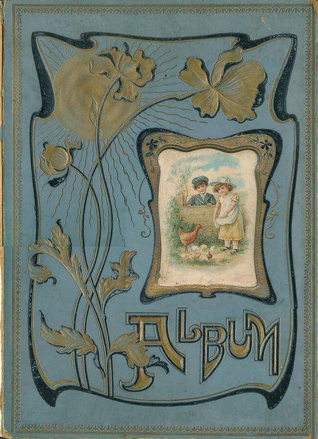 Art Nouveau Photo Album Cover
