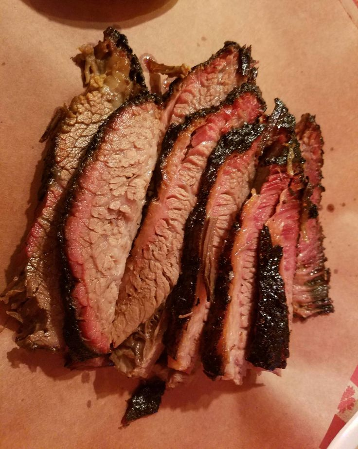 Amazing Brisket from Blacks BBQ in Lockhart, Texas