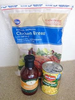 Crockpot hawaiian BBQ chicken..got a thumbs up from Steve!  So easy and smelled great!: Chicken Dinners, Crock Pot, Chicken Breasts, Bbq Sauces, Hawaiian Chicken, Bbq Chicken, Hawaiian Bbq, Crockpot Chicken, Hawaiian Crockpot