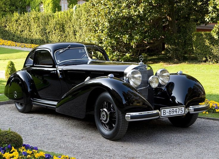 1938 Mercedes 540k