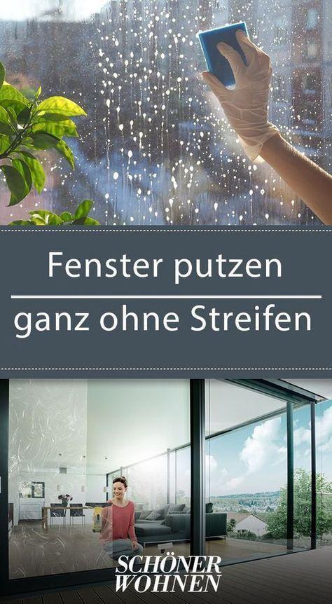 Fenster putzen – ganz ohne Streifen   hreingerningar   Fenster ...
