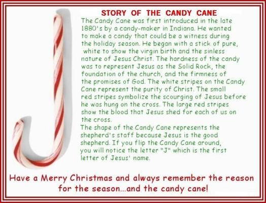 Legend of the Candy Cane | Christmas | Pinterest