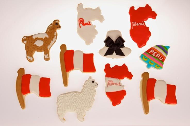 Peruvian Theme Cookies