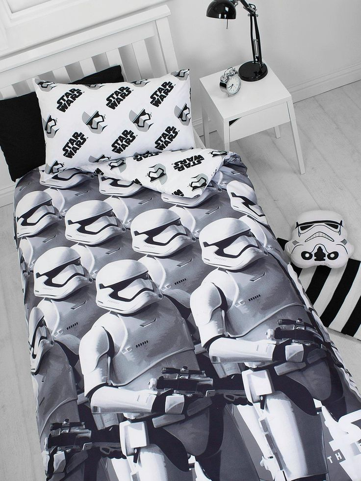 Star Wars Stormtroopers Reversible Duvet Cover Set | littlewoods.com