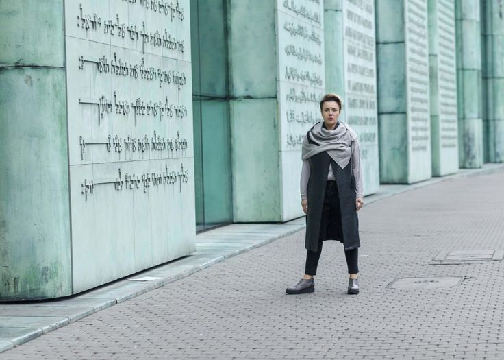Jana from 40+60+ blog steps up her fall style in Zurbano HUSK shoe