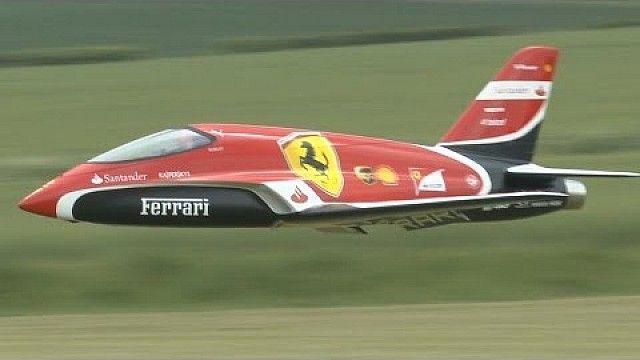 "Flying Scuderia Ferrari F1 ""Futura"" turbine JET"