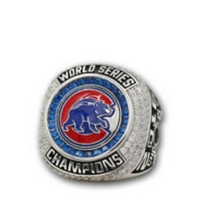 2016 Chicago Cubs Baseball World Series Championship Rings ZOBRIST