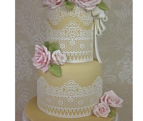 Cake Lace Chantilly Lace Mat Claire Bowman Cake Lace