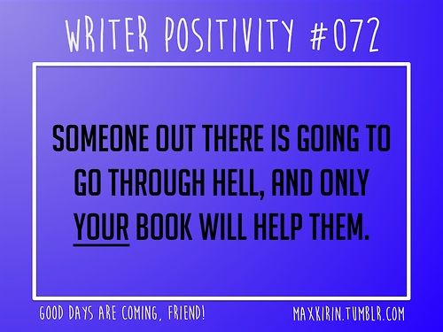 Someone who helps you write a book