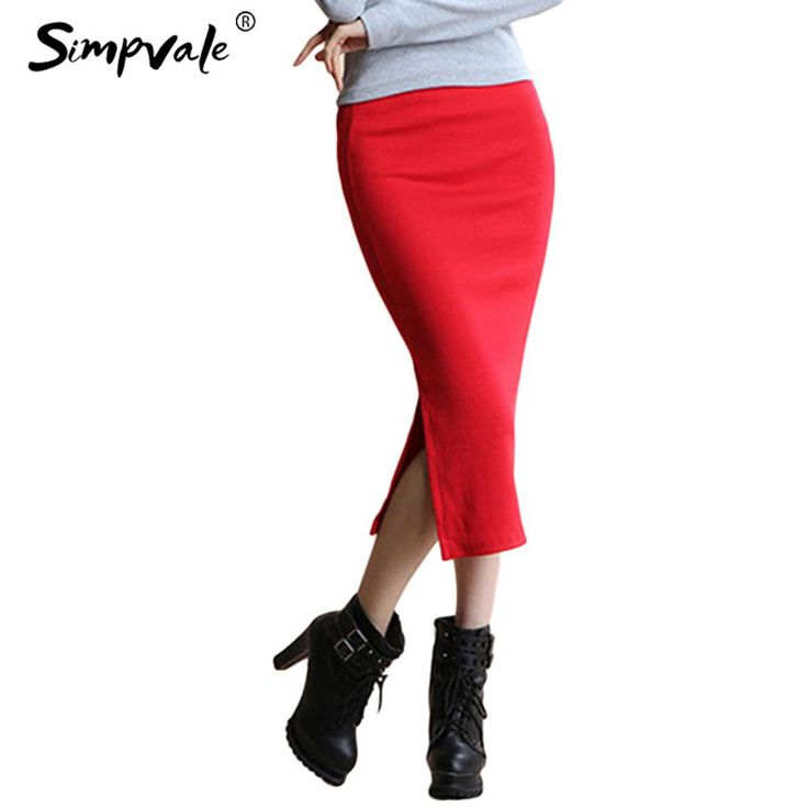 Gender: WomenPattern Type: SolidSilhouette: PencilMaterial: Spandex,Cotton,PolyesterBrand Name: SIMPVALEStyle: High StreetDresses Length: Mid-CalfModel Number: