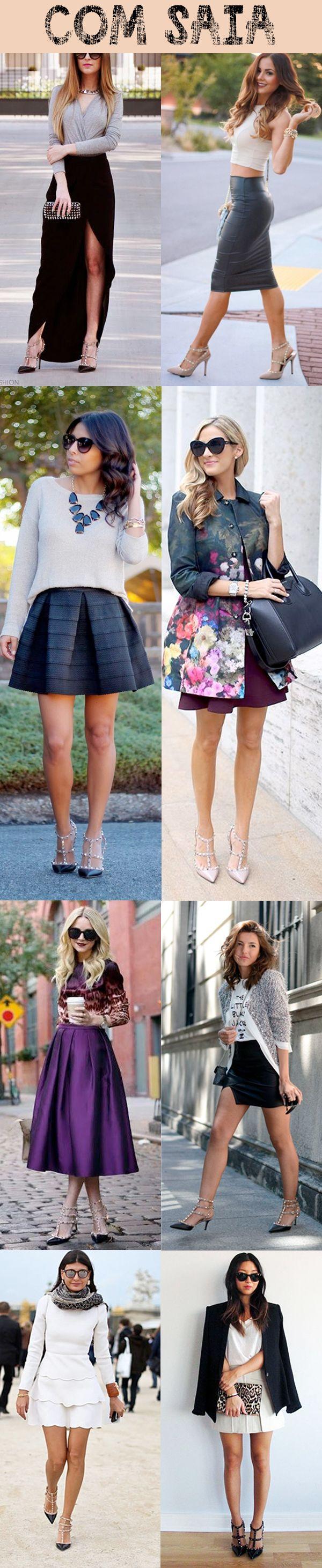 Como usar sapato Valentino com saia | Blog da Castello