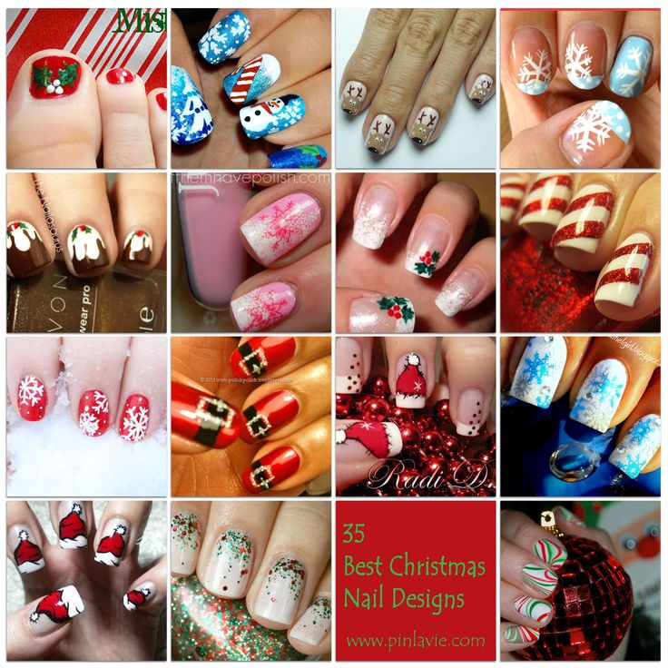 35 best christmas nail designs