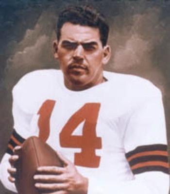 12. Otto Graham, Cleveland Browns