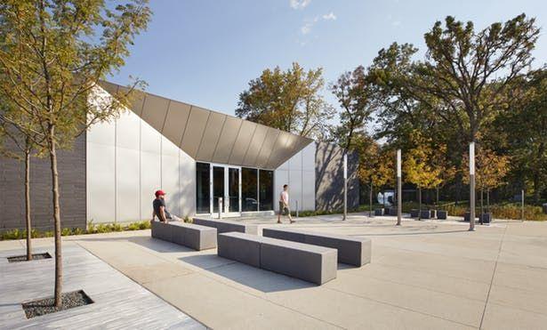 MnDOT Straight River Northbound Rest Area | Snow Kreilich Architects | Archinect