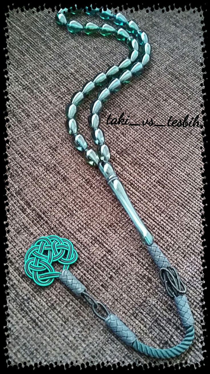 Toz kehribar erkek tesbihi Handmade prayer beads. ..