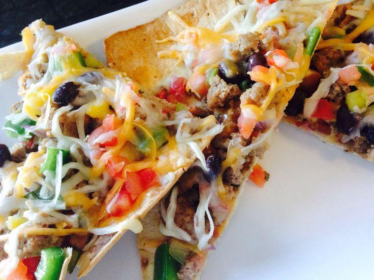 21 Day Fix Taco Pizza
