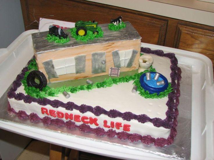 Redneck Bithday Cake Google Search Hillbilly Redneck