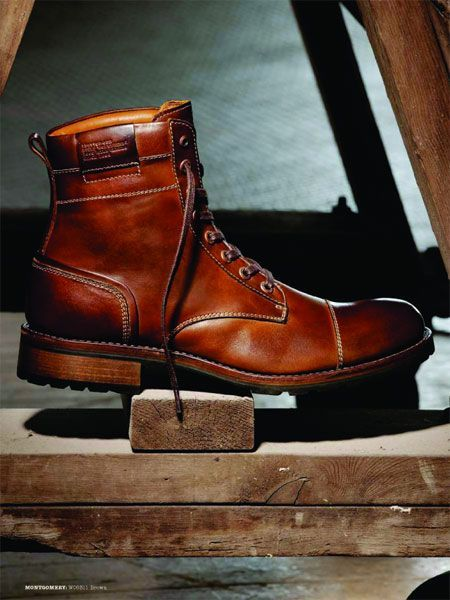 Wolverine 1000 Mile Cap Toe Style Boots Mens Fashion
