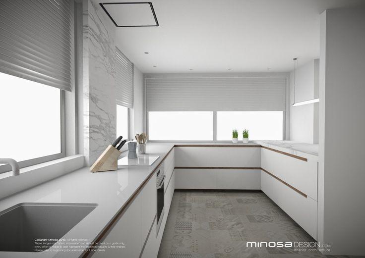 Minosa Design: White - fresh or boring? http://www.minosadesign.com/2014/06/white-kitchen-design-fresh-or-boring.html