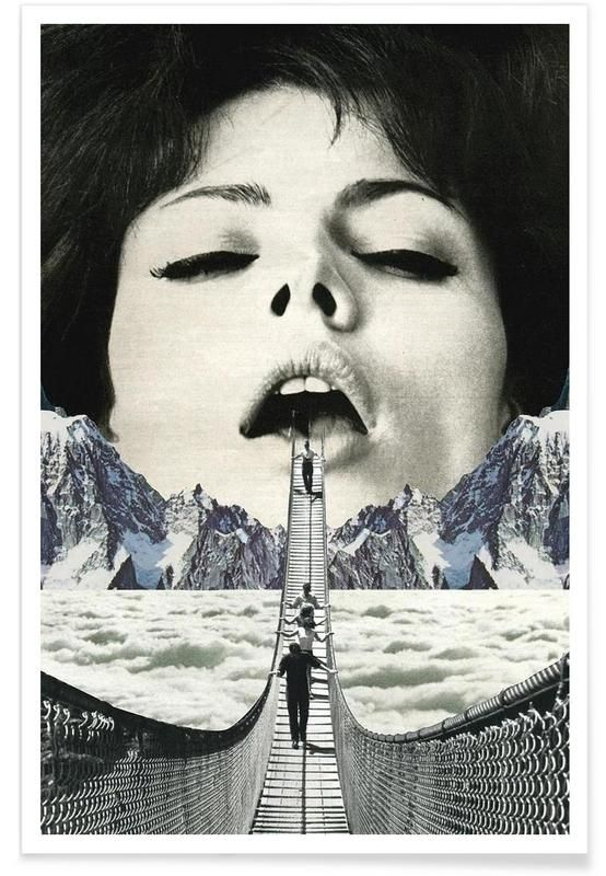 Great Escape als Premium Poster von Sammy Slabbinck | JUNIQE – Farina Mombauer