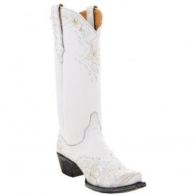 """The perfect wedding boot! Old Gringo Ladies """"Erin"""" Crystal Cowboy Boots 