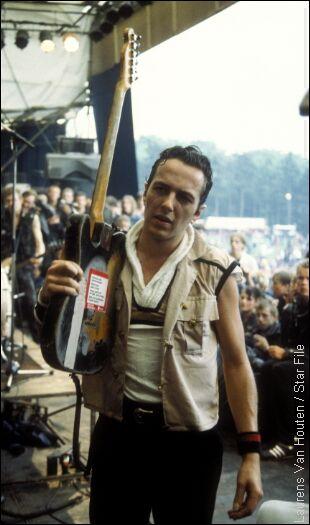 Joe Strummer, lead singer of the Clash. RIP Joe.