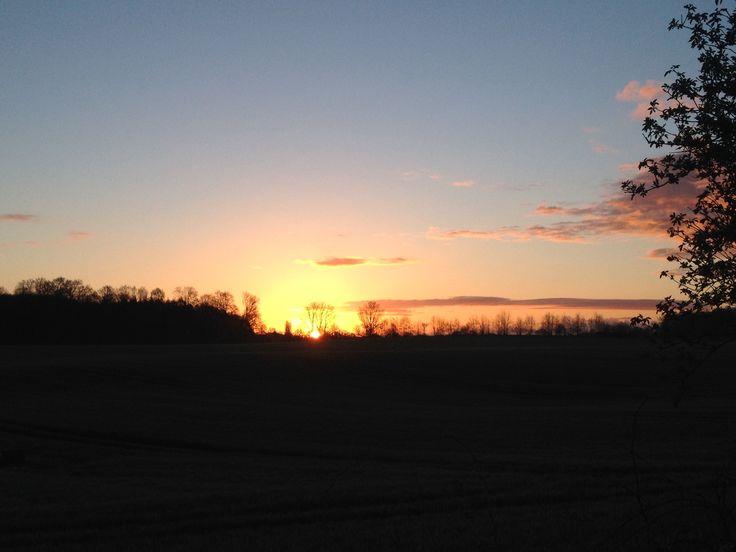 #sunrise in Hüttener Berge