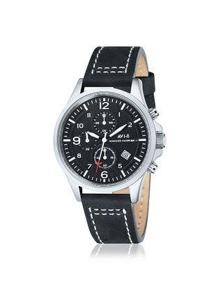 AVI-8 Men's AV-4001-02 Hawker Harrier II Black Stainless Steel Watch