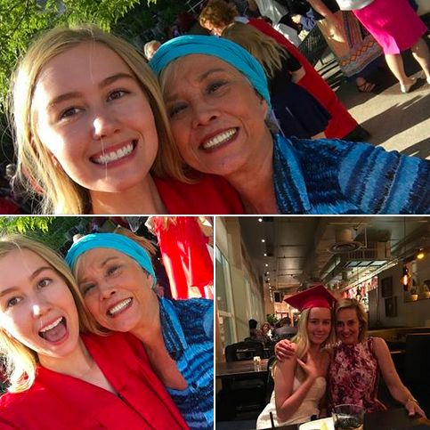 My gorgeous niece Paige graduated from East High School in Denver. She was recognized for having a 4.0 for more than 7 semesters. Her proud Mama had a special celebration for her. Yeah Paige and all high school grads at East!!
