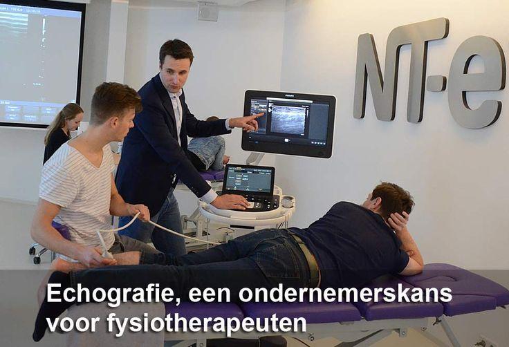 Echografie, een ondernemerskans voor fysiotherapeuten