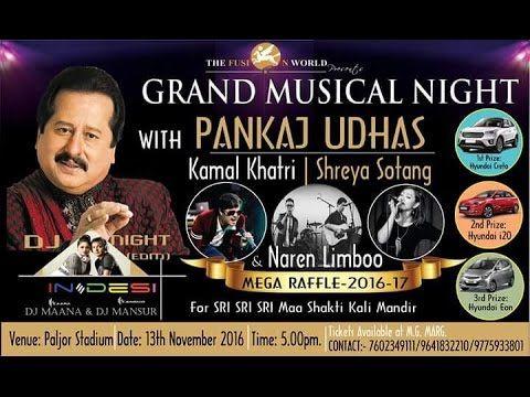 Pankaj Udhas Chithi ayee hai live from Paljor stadium Gangtok - Popular ...