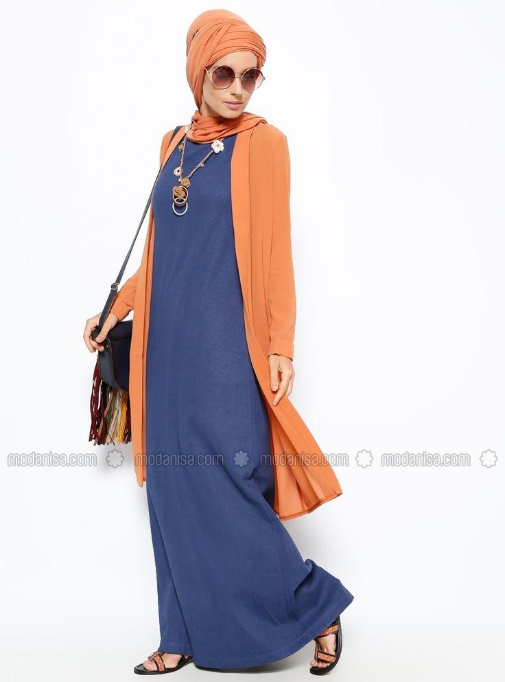 Sleeveless Dress - Blue - Everyday Basic