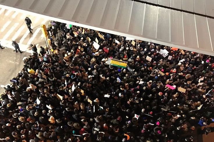 Corporate Travel Got Even More Complicated in 2017  This photo shows protests at John F. Kennedy International Airport over the Trump administration's first travel ban in January. The ban  a third version of which was allowed to go into effect late in the year  was one of many disruptive forces in business travel in 2017. Beverly Yuen Thompson / Flickr  Skift Take: Business travelers coped with a range of surprises including disruptive natural disasters and sudden shifts in government…
