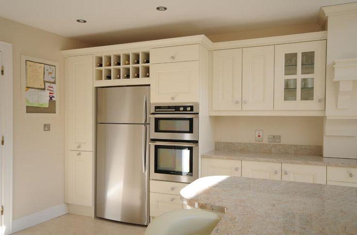Ivory Kitchen With Kashmir White Granite | Kitchen Index Blog