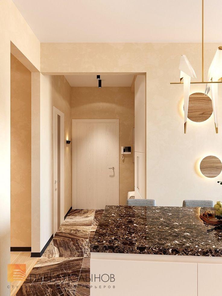 Фото холл из проекта «Дизайн проект 1-комнатной квартиры 70 кв.м. в ЖК «Риверсайд», современный стиль»