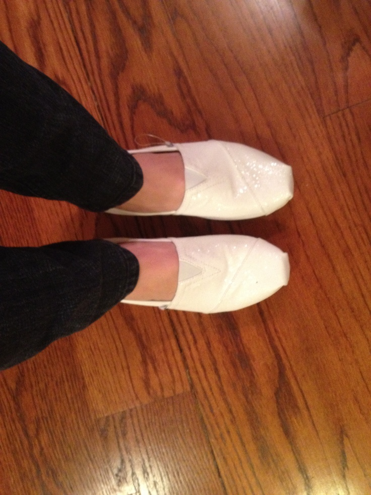 white glitter toms my style toms god made